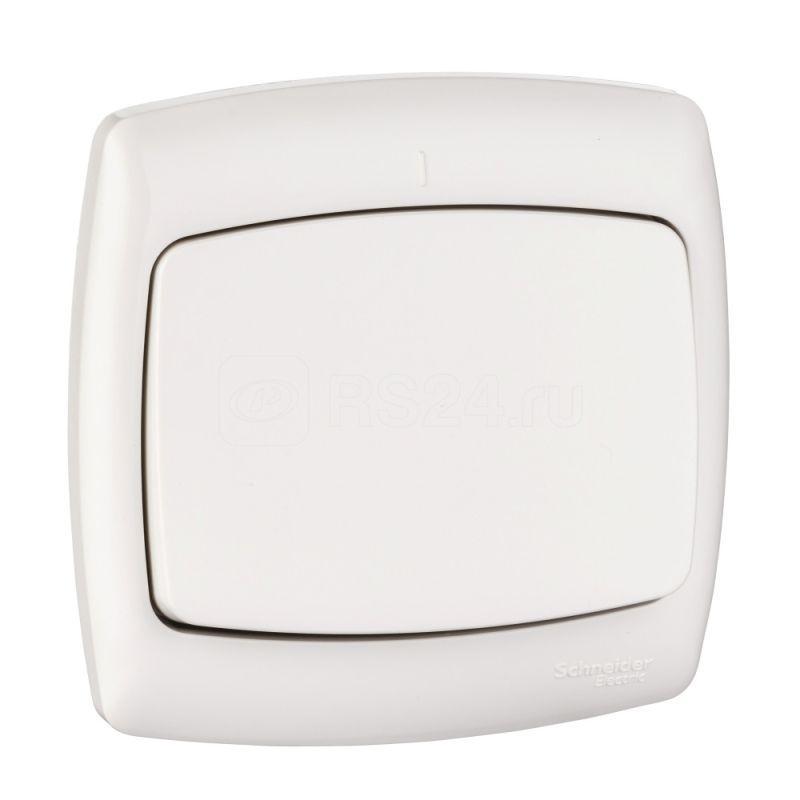 Выключатель 1-кл. СП Рондо 6А IP20 бел. SchE С16-067 S16-067-BI (С16-067-би) купить в интернет-магазине RS24