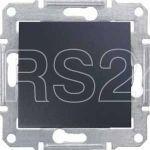 Переключатель перекрестный 1-кл. СП Sedna 10А IP20 (сх. 7) 250В графит SchE SDN0500170 купить в интернет-магазине RS24
