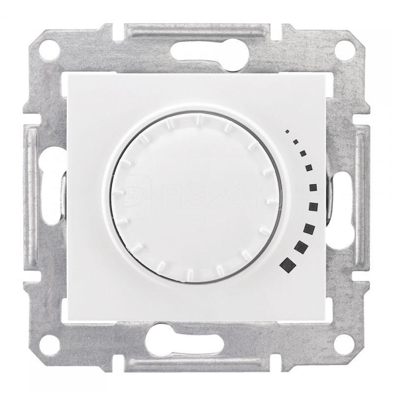 Механизм светорегулятора СП Sedna 60-500Вт нажим. бел. SchE SDN2200521 купить в интернет-магазине RS24