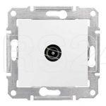 Механизм розетки TV 1-м СП Sedna оконечная бел. SchE SDN3201621