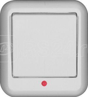 Выключатель 1-кл. ОП Прима 10А IP20 250В 6AX с подсветкой бел. (розн. упак.) SchE VA1U-111-BI купить в интернет-магазине RS24