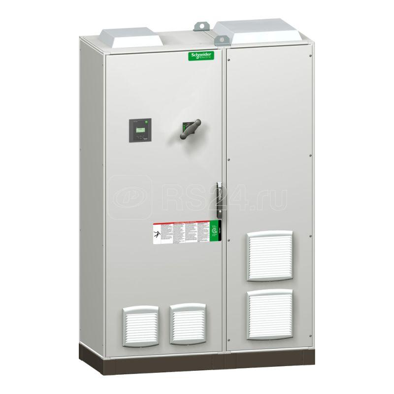Установка конд. УКРМ VarSet 600кВАр 400В для загрязненной сети DR3.8 с авт. выключателем ввод сверху SchE VLVAF6P03522AK купить в интернет-магазине RS24