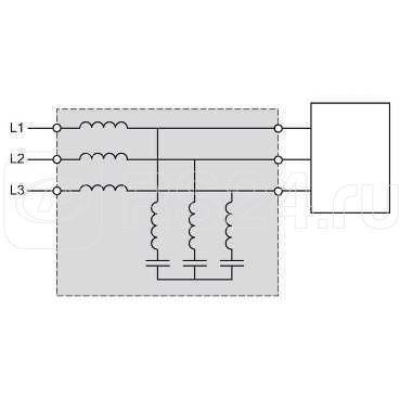 Фильтр пассивный 338А 400В 50Гц SchE VW3A46117 купить в интернет-магазине RS24