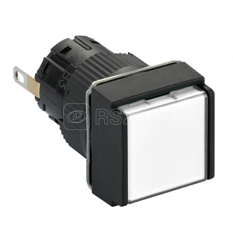 Лампа сигнальная 16мм 24В IP65 квадрат. бел. SchE XB6ECV1BP купить в интернет-магазине RS24