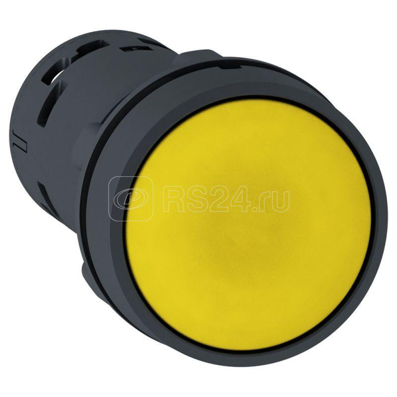 Кнопка 22мм желт. с возвратом 1НО SchE XB7NA81 купить в интернет-магазине RS24