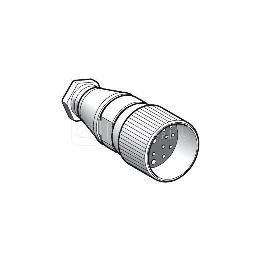 Разъем прям. М23 19 контактов SchE XZCC23FDM190S купить в интернет-магазине RS24