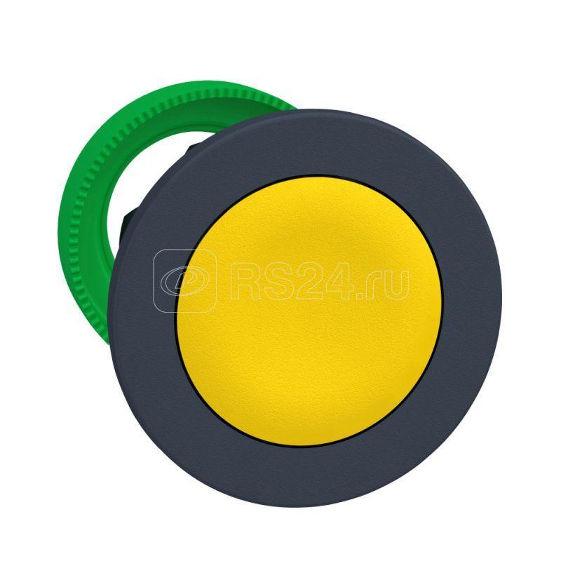 Головка кнопки утопленный монтаж желт. SchE ZB5FA5 купить в интернет-магазине RS24