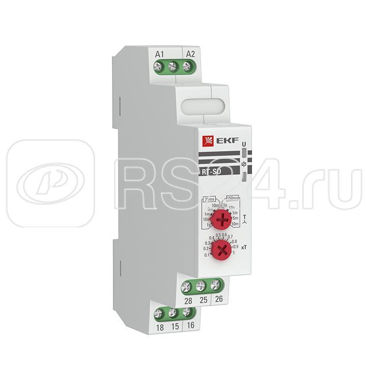 Реле времени RT-SD 12-240В (для двигателей звезда-треугольник) PROxima EKF rt-sd-12-240 купить в интернет-магазине RS24