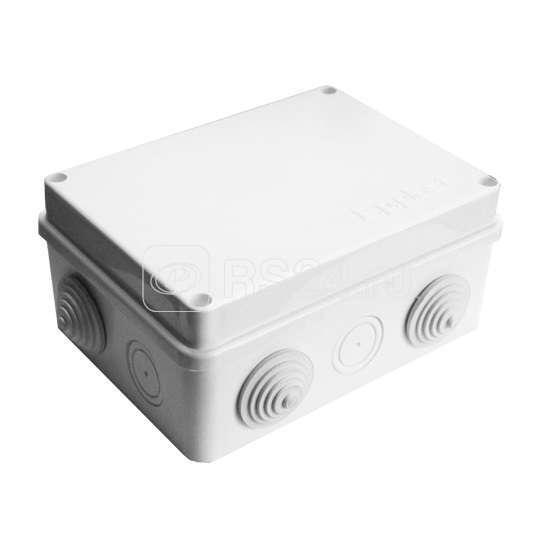 Коробка распр. ОП 150х110х70 10 выходов 6 гермовводов IP54 крышка на винтах бел. Epplast 210301 купить в интернет-магазине RS24