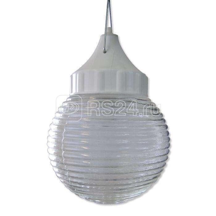 Светильник НСП 03-60-001 Кольца d150 IP53 корпус пластик бел. Элетех 1005550255 купить в интернет-магазине RS24