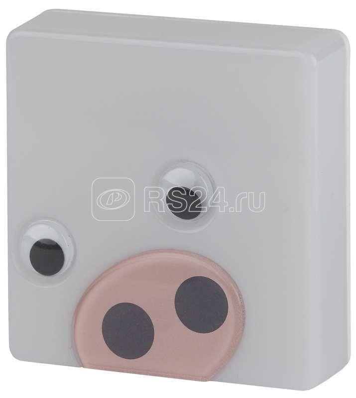 Светильник NN-631-LS-P ночник Поросенок розовый ЭРА Б0015242 купить в интернет-магазине RS24