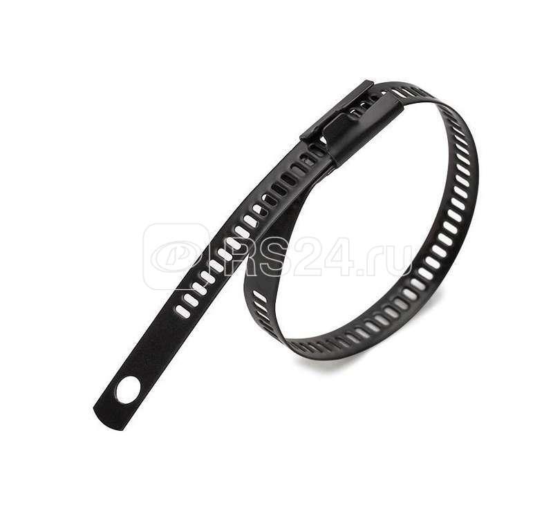 Хомут кабельный СКЛ-П (316) 7х300 стальной лестничного типа с покрытием (уп.100шт) Fortisflex 74157 купить в интернет-магазине RS24