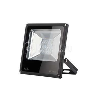 Прожектор светодиодный Elementary 30Вт IP65 6500К черн. Gauss 613100330