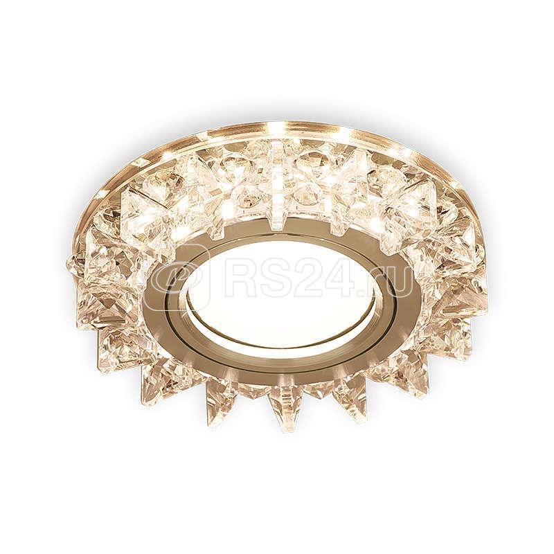 Светильник светодиодный Backlight BL037 GU5.3 2700К круглый кристалл/хром Gauss BL037 купить в интернет-магазине RS24