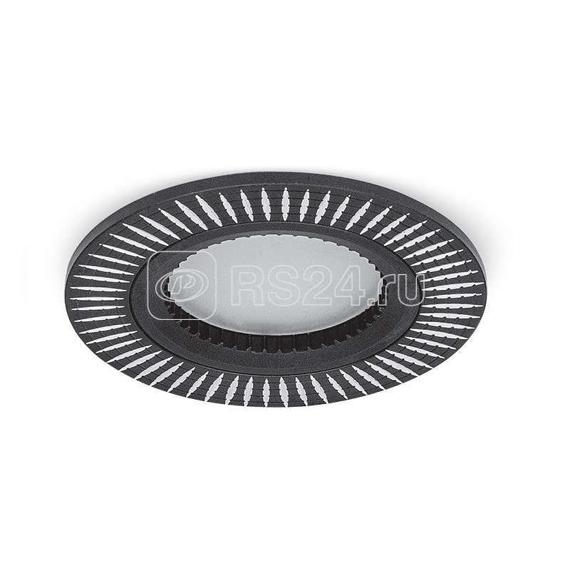 Светильник Aluminium AL014 GU5.3 круглый черн./хром Gauss AL014 купить в интернет-магазине RS24