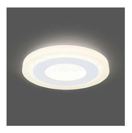 Светильник светодиодный Backlight BL114 круглый акрил 3+3Вт LED 3000К Gauss BL114 купить в интернет-магазине RS24