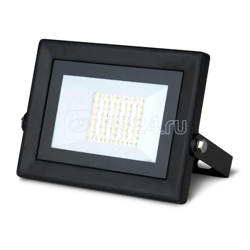 Прожектор светодиодный Elementary Led Qplus 30Вт IP65 6500К черн. Gauss 613511330