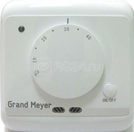 Термостат мех. MST-2 датчик пола; датчик возд. 3.6кВт 16А бел. Grand Meyer MST-2