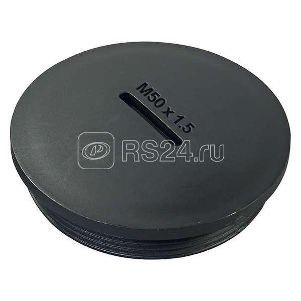 Заглушка PG7 резьбовое соединение полиамид черн. (уп.100шт) HAUPA 250176 купить в интернет-магазине RS24
