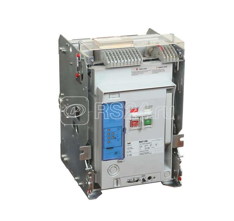 Выключатель автоматический 3п 4000А 100кА ВА 07-440 выдвиж. с незав. расцеп. ИЭК SAB430-4000-S11V-P11 купить в интернет-магазине RS24