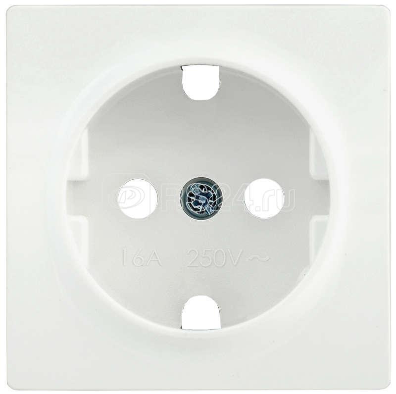 Накладка розетка BOLERO НР-1-1-ББ с заземл. бел. ИЭК ENB11-R-K01 купить в интернет-магазине RS24