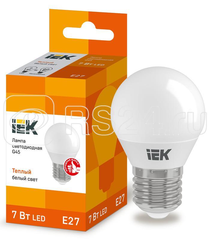 Лампа светодиодная ECO G45 9Вт шар 3000К E27 230В ИЭК LLE-G45-9-230-30-E27