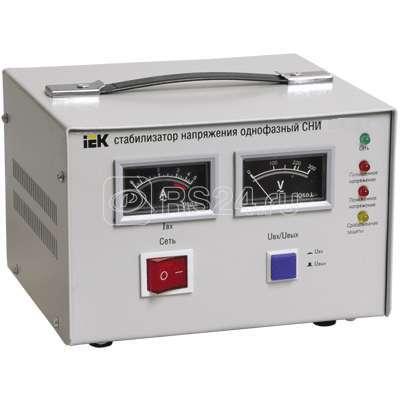 Стабилизатор напряжения СНИ 1/220 5.0кВА 1ф ИЭК IVS10-1-05000 купить в интернет-магазине RS24