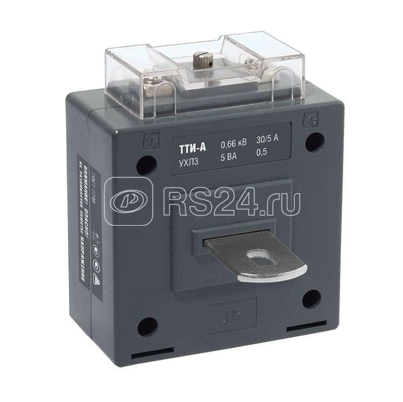 Трансформатор тока ТТИ-А 250/5А кл. точн. 0.5S 5В.А ИЭК ITT10-3-05-0250
