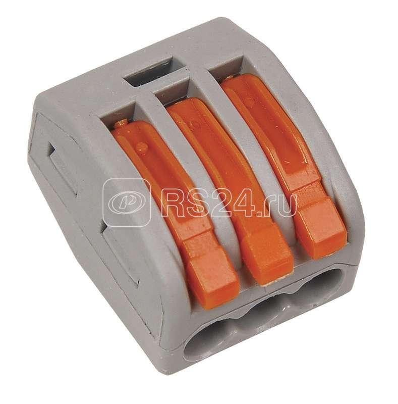Клемма строительно-монтаж. СМК 222-413 ИЭК UKZ-004-413 купить в интернет-магазине RS24