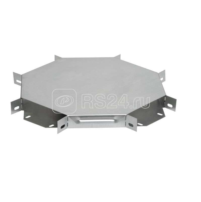 Ответвитель для лотка 50х300мм Х-образ. HDZ ИЭК CLP1X-050-300-M-HDZ