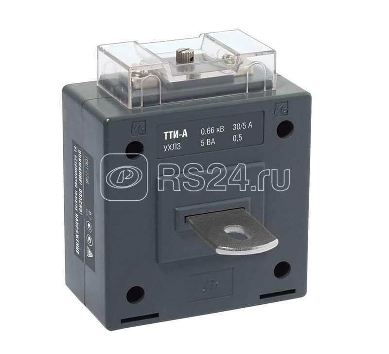 Трансформатор тока ТТИ-А 400/5А кл. точн. 0.5S 5В.А ИЭК ITT10-3-05-0400