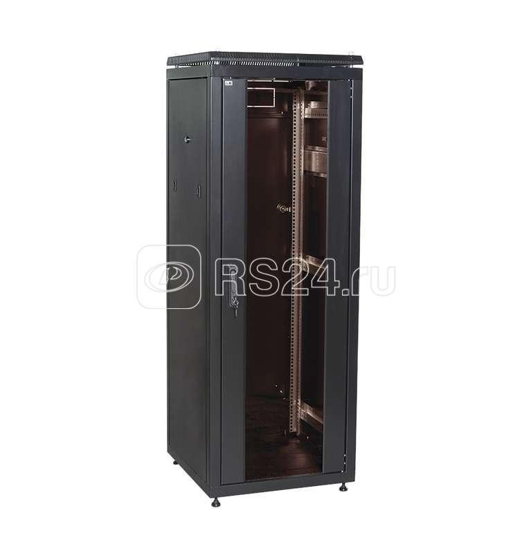 Шкаф сетевой 19дюйм LINEA N 28U 600х600мм стекл. передн. дверь черн. ITK LN05-28U66-G купить в интернет-магазине RS24
