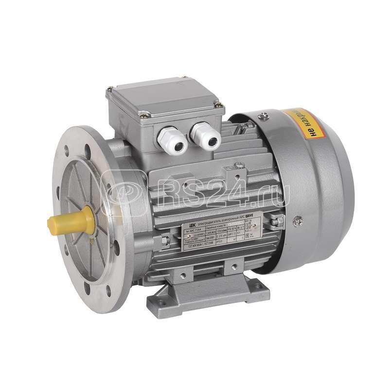 Электродвигатель АИС DRIVE 3ф. 71C4 380В 0.55кВт 1500об/мин 2081 ИЭК AIS071-C4-000-6-1520 купить в интернет-магазине RS24