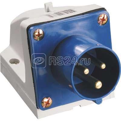 Вилка эл. наруж. уст. 16А 2P+PE 220В IP44 ССИ-513 ИЭК PSR51-016-3