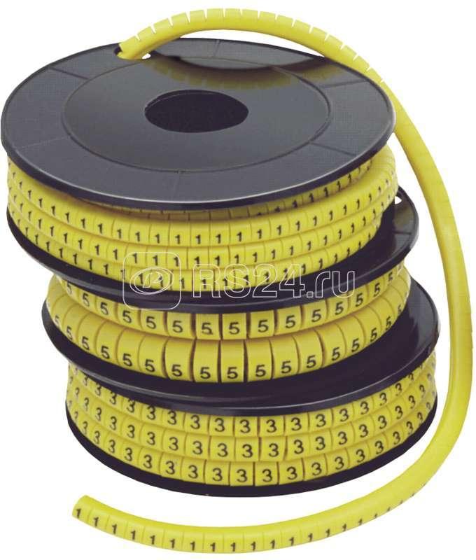 Маркер каб. МК2-4мм 1ИЭК 500шт/ролл ИЭК UMK20-1 купить в интернет-магазине RS24