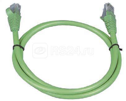 Патч-корд кат.5е UTP 3м зел. ITK PC02-C5EU-3M