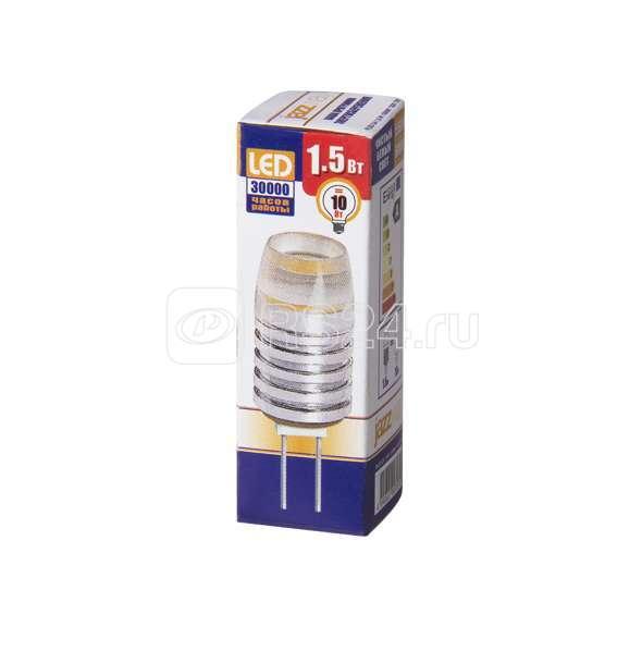 Лампа светодиодная PLED-G4 1.5Вт капсульная 5500К холод. бел. G4 90лм 12В JazzWay 1007070 купить в интернет-магазине RS24