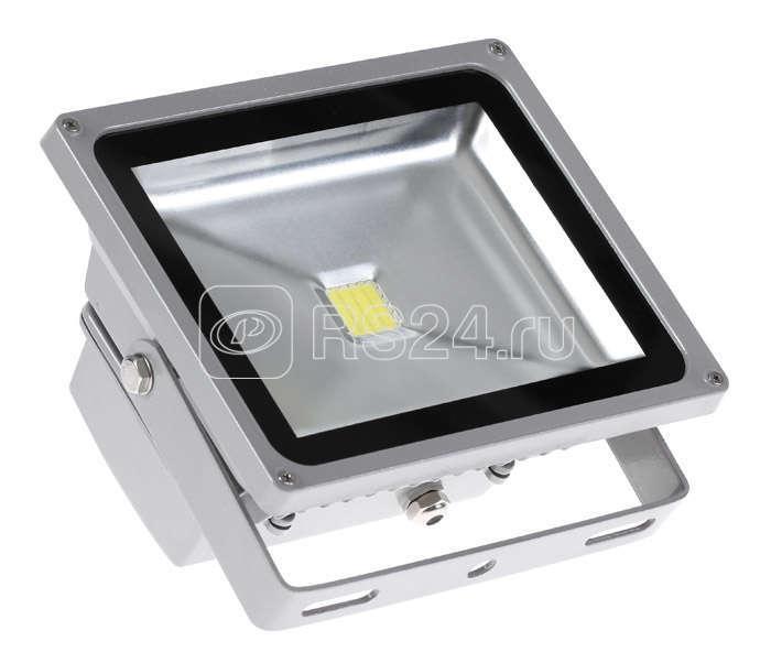 Прожектор PFL-30W/CW/GR LED 30Вт IP65 6500К JazzWay 1001290 купить в интернет-магазине RS24