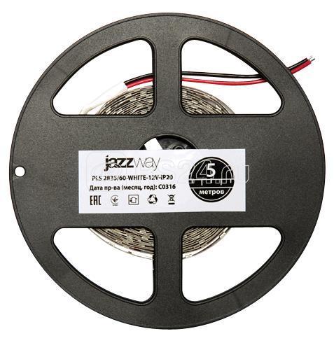 Лента светодиодная PLS 2835/120-12V-W 12Вт/м IP20 бел. свет (уп.5м) JazzWay 2859051 купить в интернет-магазине RS24