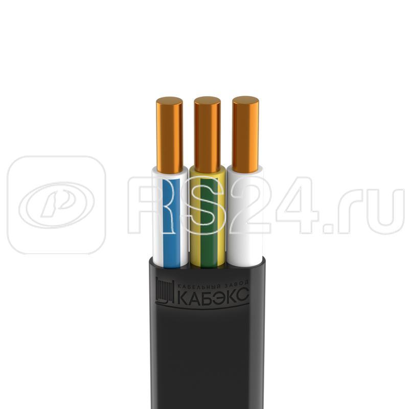 Кабель ВВГ-Пнг(А)-LS 3х2.5 ок (N PE) 0.66кВ (бухта 100м) (м) Кабэкс ТХМ00136565