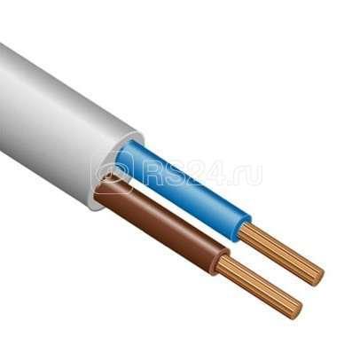 Провод ПВС 2х1.5 Ч (бухта) (м) ЭлектрокабельНН М0002732