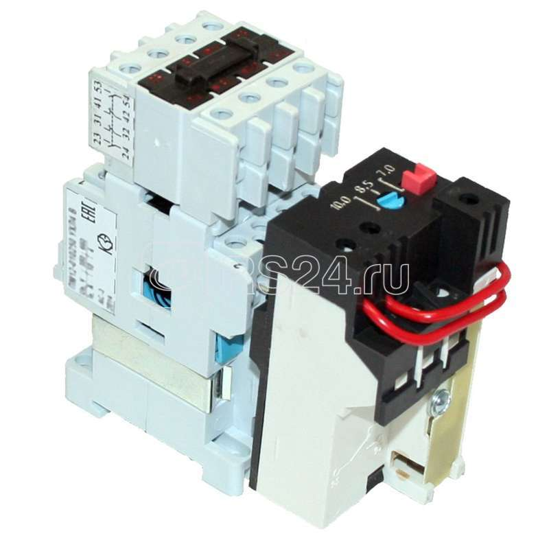 Пускатель магнитный ПМ 12-010250 УХЛ4 В 220В (3з+2р) РТТ5-10-1 0.80А Кашин 020250320ВВ220000910 купить в интернет-магазине RS24
