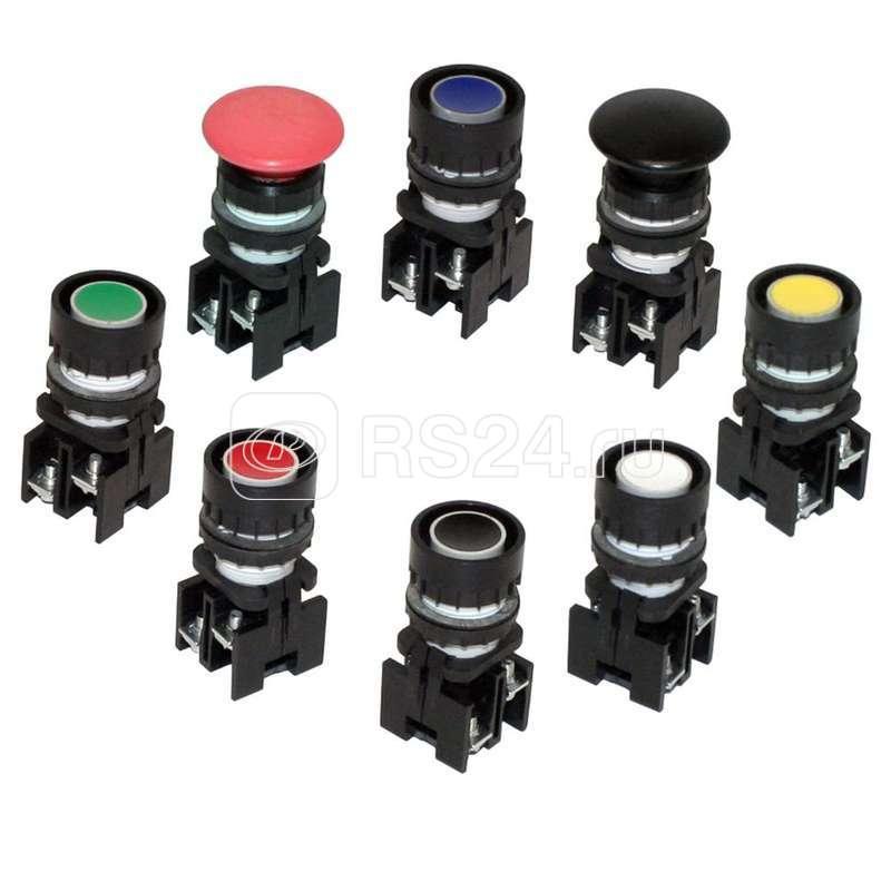 Выключатель кнопочный ВК 43-21-10110-54 Т2 черн. экспорт Кашин 180101103ЭЧ000000000 купить в интернет-магазине RS24