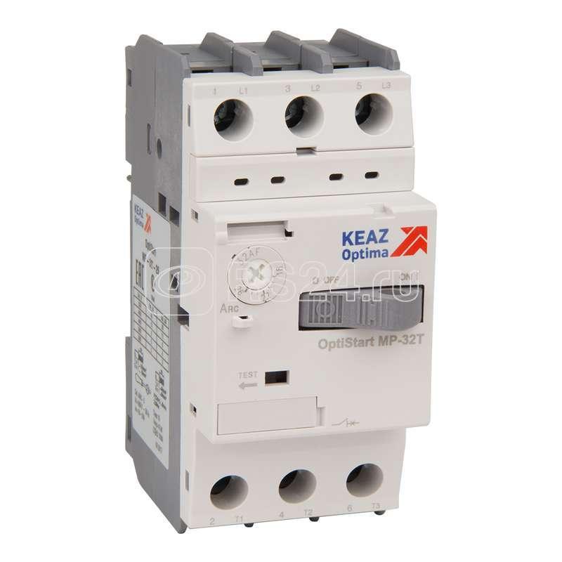 Выключатель авт. OptiStart MP 32T 10А КЭАЗ 115746 купить в интернет-магазине RS24