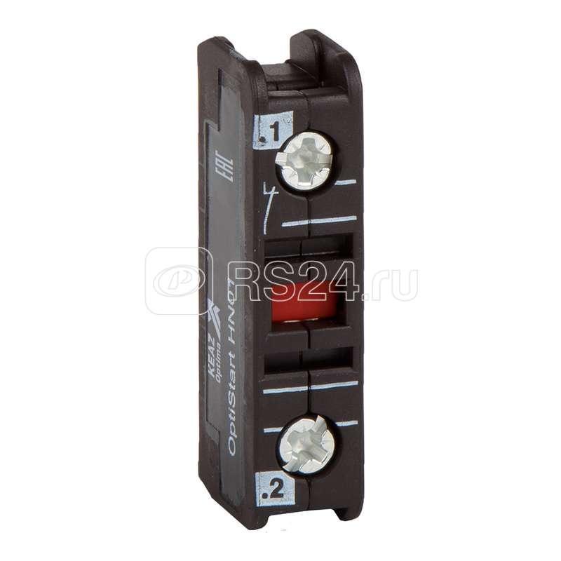 Блок контактов вспомогательный OptiStart HN01U КЭАЗ 117751