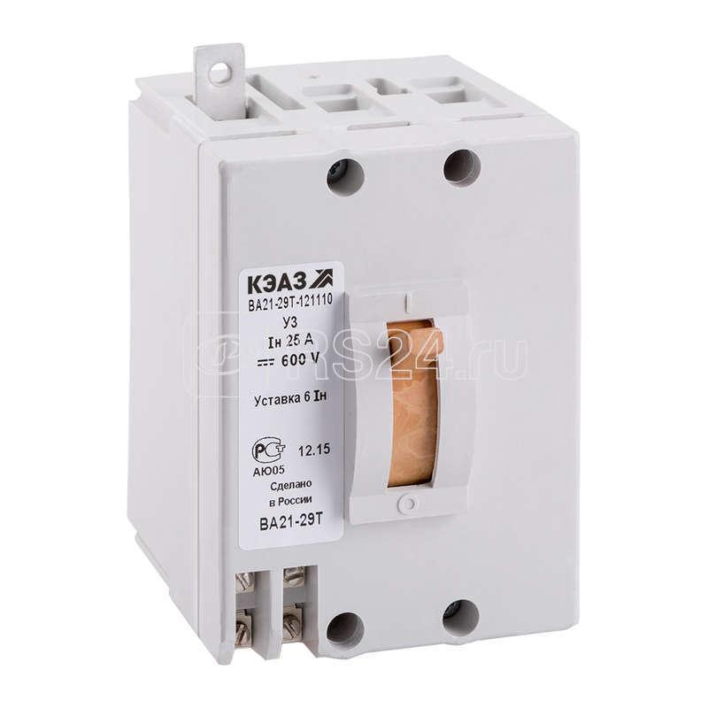 Выключатель автоматический ВА21-29Т-121110 8А 1.5Iн 600DC У3 КЭАЗ 243904 купить в интернет-магазине RS24