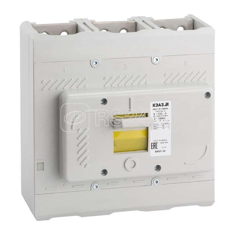 Выключатель автоматический ВА57-39-330010 400А 2000 690AC УХЛ3 КЭАЗ 261784 купить в интернет-магазине RS24