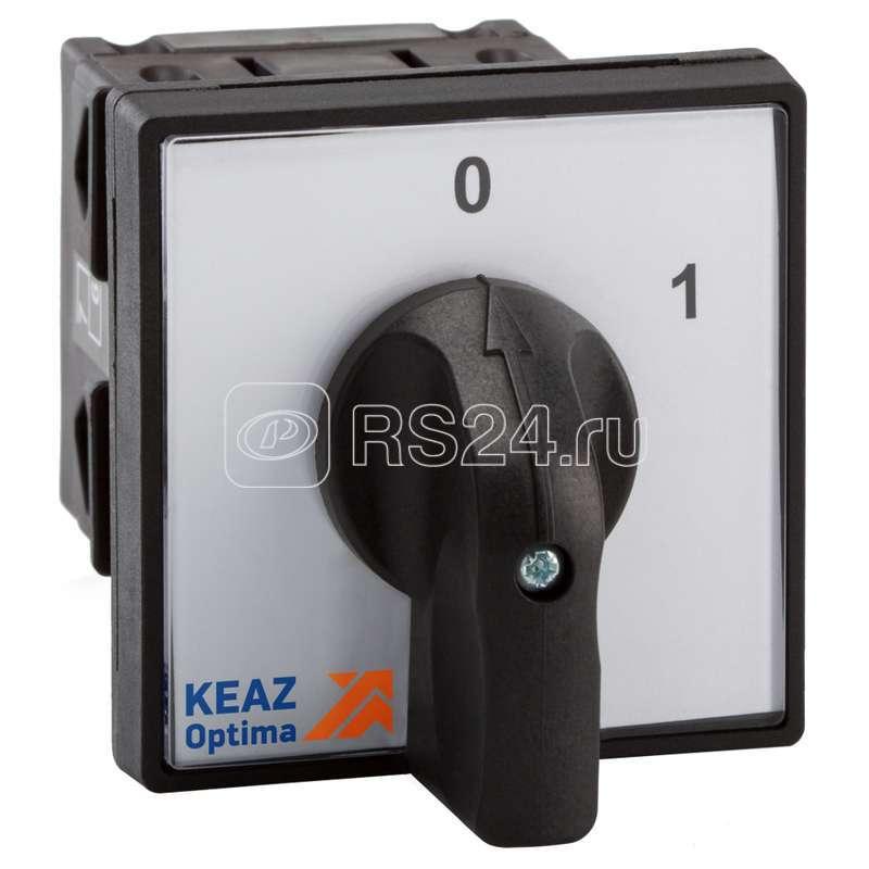 Переключатель кулачковый OptiSwitch 4G16-521-U-S5-1 КЭАЗ 267414 купить в интернет-магазине RS24