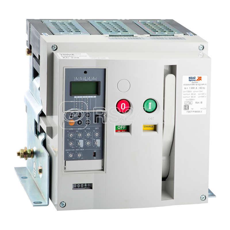Выключатель авт. OptiMat A2000N F MR8 З У3 КЭАЗ 226886 купить в интернет-магазине RS24