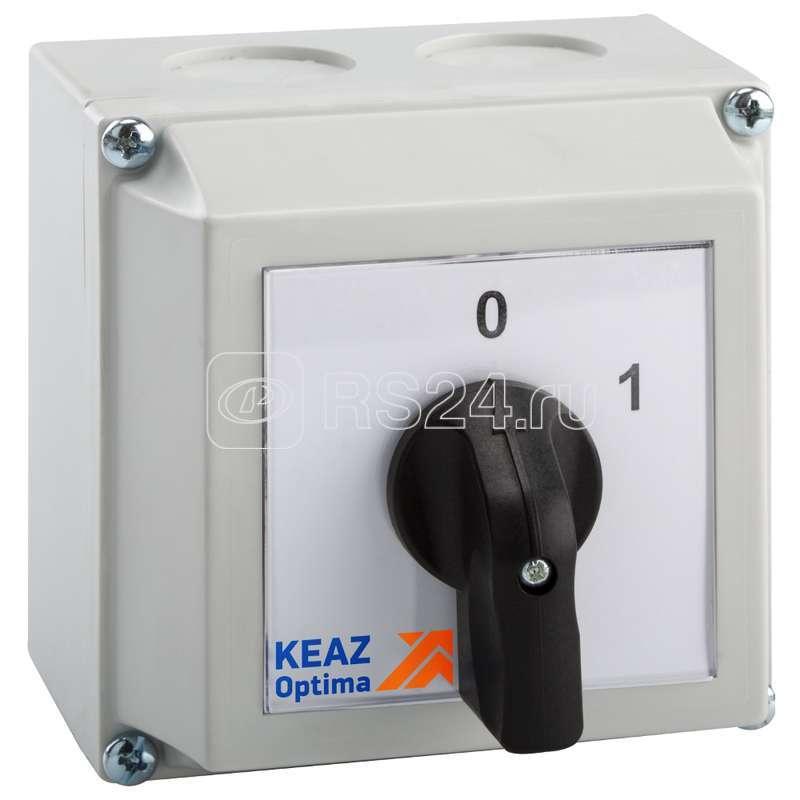 Переключатель кулачковый OptiSwitch 4G40 75 PK R214 КЭАЗ 231155 купить в интернет-магазине RS24